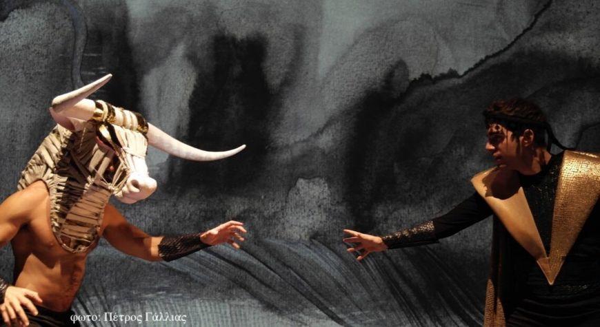 Η Κάρμεν Ρουγγέρη με την παράσταση