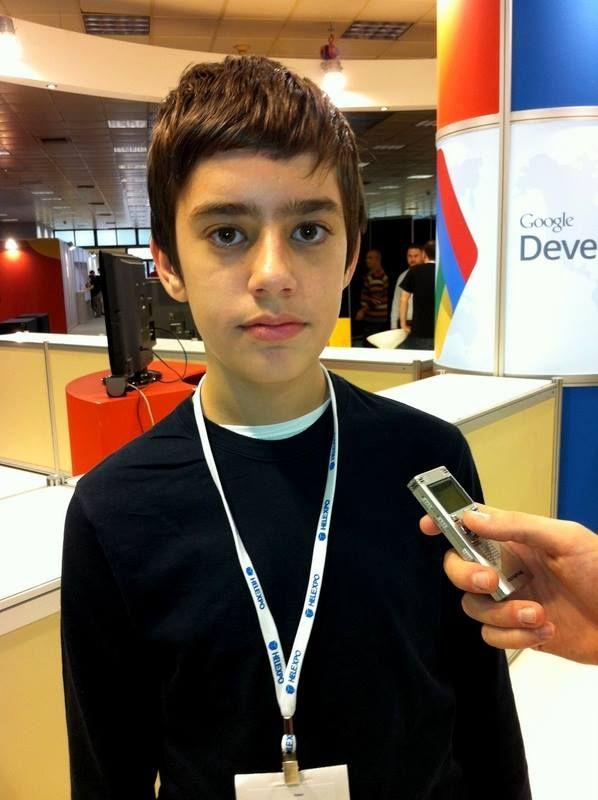 Δωδεκάχρονος από τη Θεσσαλονίκη χαρισματικός συνεργάτης της Google!
