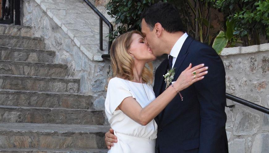 Παντρεύτηκαν Μπαλατσινού-Κίκιλιας! (Photos)