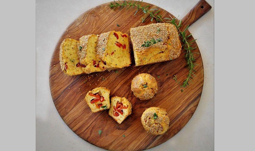 Αλμυρό κέικ από την Εύα Παρακεντάκη