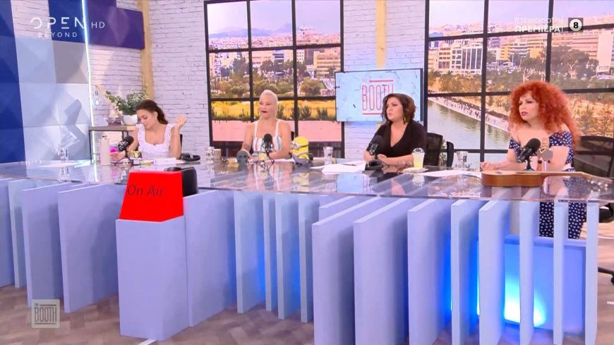 The Booth: Το καλωσόρισμα στη νέα εκπομπή του Open