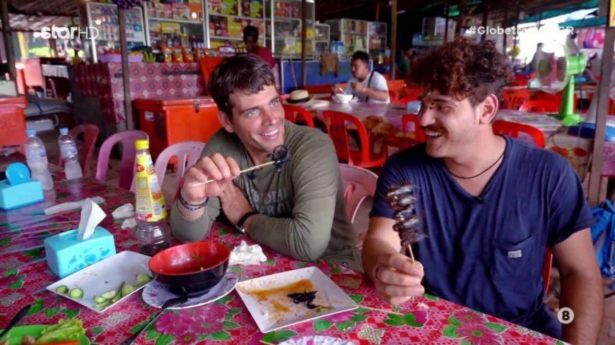 Globetrotters: Δείτε τι έφαγαν ο Χρήστος και ο Παντελής στην Καμπότζη!