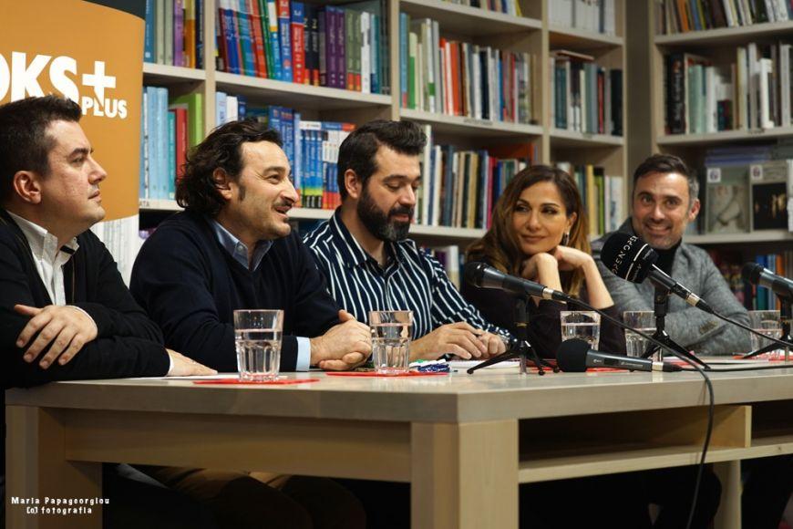 Το βιβλίο με το πρώτο του θεατρικό έργο παρουσίασε ο Γιώργος Καπουτζίδης