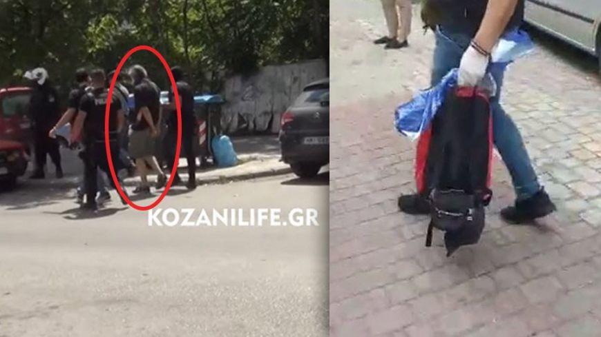 Eπίθεση με τσεκούρι σε εφορία Κοζάνης: Στο χειρουργείο οι τρεις τραυματίες - Δείτε βίντεο από τη σύλληψη