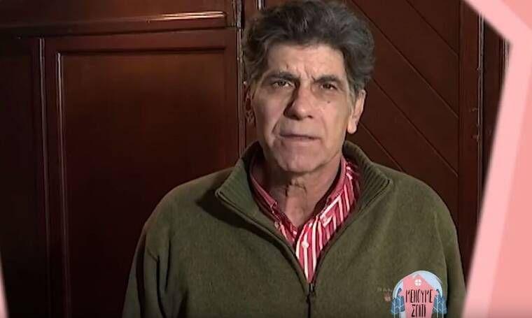 Γιάννης Μπέζος: Δεν είμαι ανοιχτός στο να δουλεύουν άσχετοι στο θέατρο. Αν θέλουν ας φέρνουν καφέδες στον θίασο