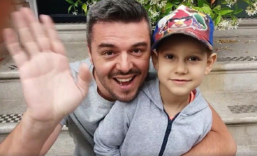 Πέτρος Πολυχρονίδης: Η συγκινητική φωτογραφία του μικρού Βαγγέλη από την Αμερική και τα νεότερα για την υγεία του