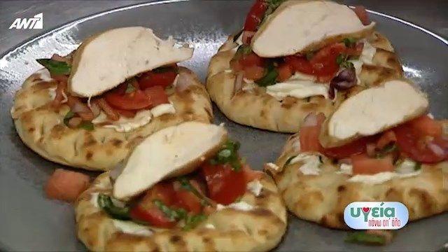 Υγιεινή Συνταγή: σουβλάκι πίτα καρπούζι