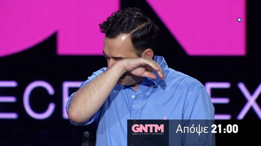 GNTM: Ξεσπάει σε κλάματα ο Άγγελος Μπράτης