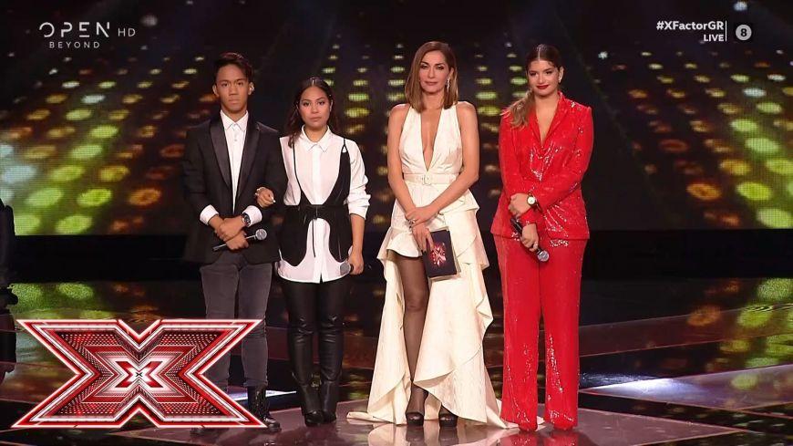 X Factor: Δείτε ποιος αποχώρησε