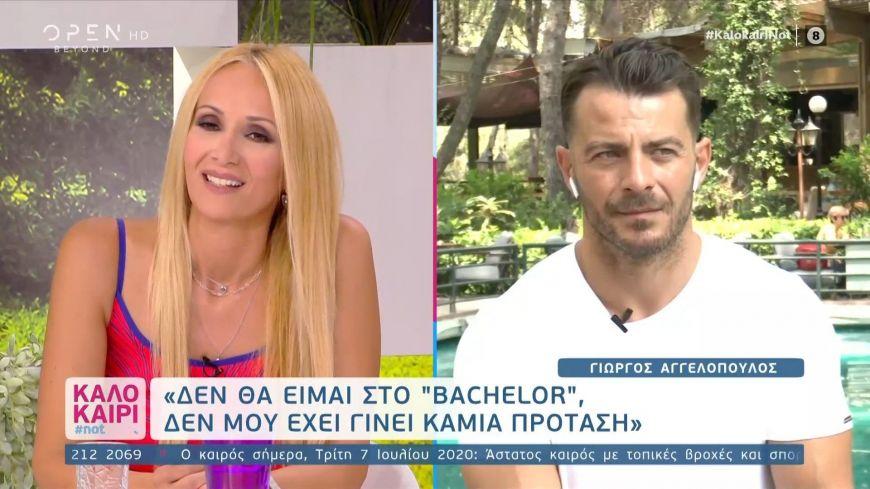 Ο Γιώργος Αγγελόπουλος ξεκαθαρίζει: Δεν θα πάρω μέρος στο