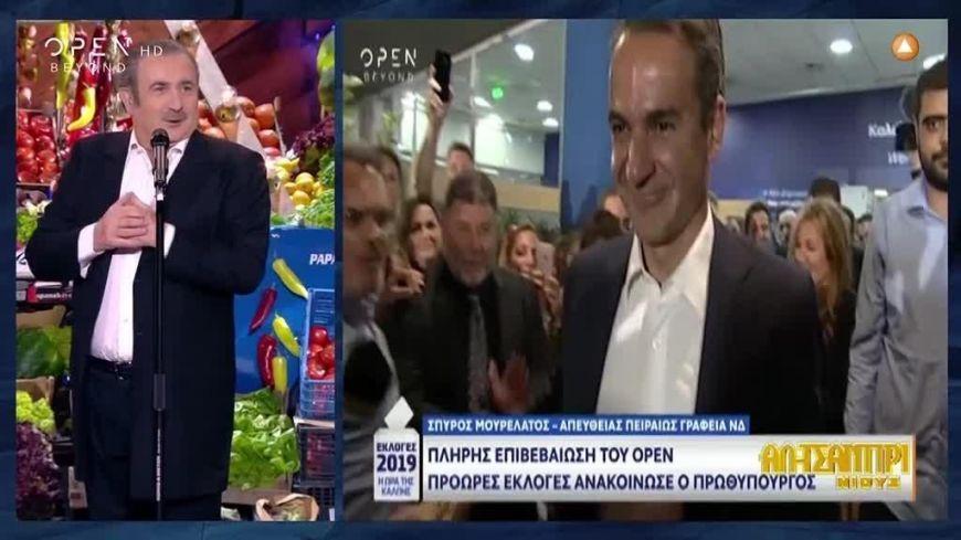 Τα εκλογικά αποτελέσματα με την μάτια του Λάκη Λαζόπουλου