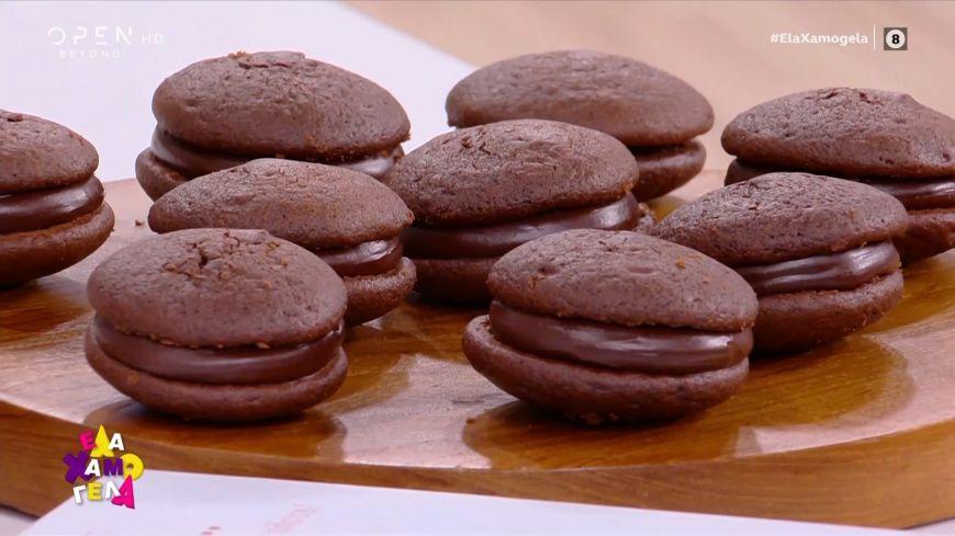 Σάντουιτς σοκολάτας χωρίς ζάχαρη από τον Χρήστο Βέργαδο