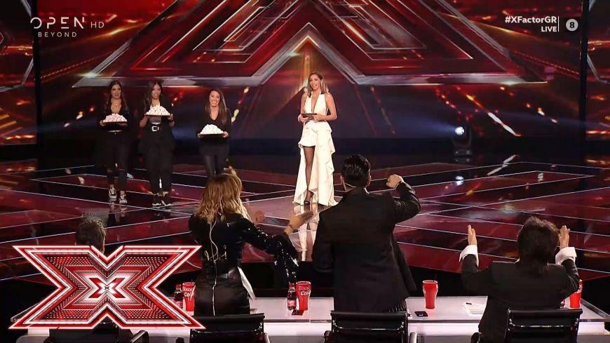 X Factor: Η Δέσποινα Βανδή κέρασε τους κριτές κουραμπιέδες από τα χεράκια της