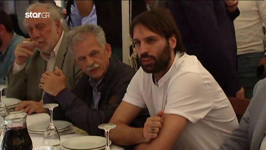 Ο… Γιώργος Σαμαράς στο ίδιο τραπέζι με τον Τσίπρα στην Κρήτη