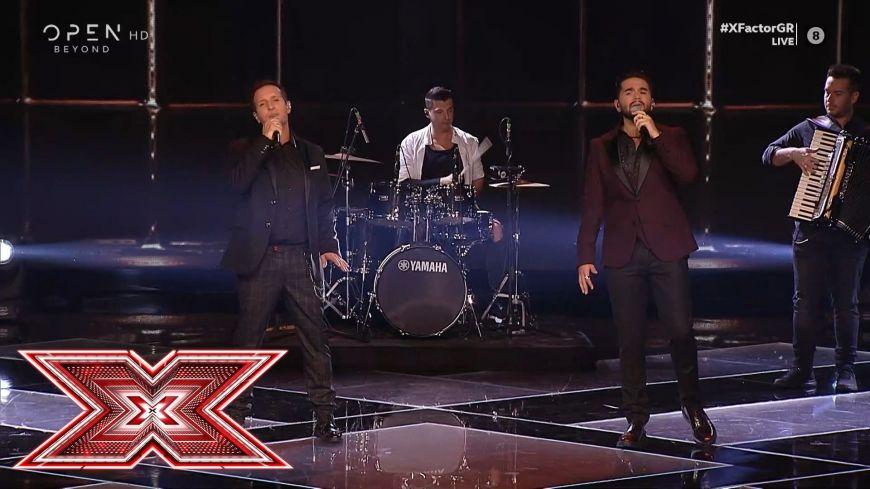 X Factor: Το ξεχωριστό ντουέτο του Δημήτρη Μπάση με τον Χρήστο Μάστορα
