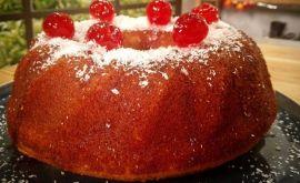 Κέικ με ζαχαρούχο 4 υλικών από την Εύα Παρακεντάκη