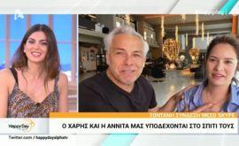 Χαρούμενες ειδήσεις στον καιρό του κορονοϊού: Γονείς θα γίνουν ο Χάρης Χριστόπουλος και η σύζυγος του Αννίτα