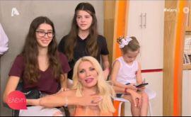 Η Ελένη μας έδειξε για πρώτη φορά τα πανέμορφα παιδιά της που ήταν μαζί της στο πλατό!