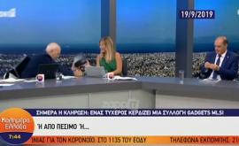 """Όταν ο Γιώργος Παπαδάκης έπεσε από την καρέκλα του! """"Μου έκαναν σαμποτάζ για να πέσω"""""""