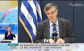 Σωτήρης Τσιόδρας: Δεν θα μπορέσω, δεν θα μπορέσουμε, ποτέ να συνηθίσουμε το να έχουμε νεκρούς από τον κορονοίό...