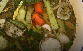 Ζωμός λαχανικών από την Εύα Παρακεντάκη