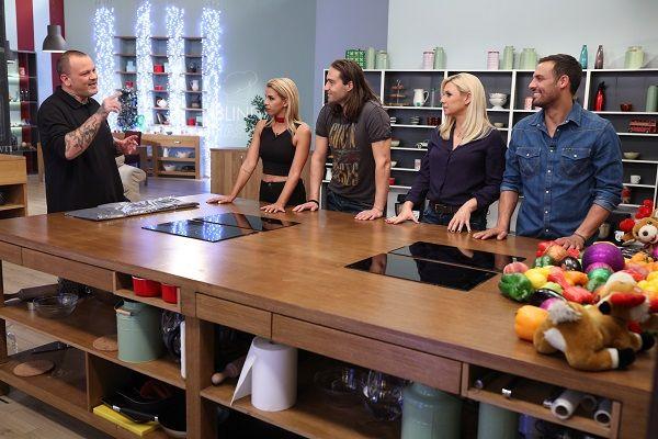 «Blind Taste»: Σήμερα μαγειρεύουν  η Κατερίνα Καραβάτου, η Τζένη Μελιτά, ο  Σάββας Πούμπουρας και ο  Κώστας Φραγκολιάς