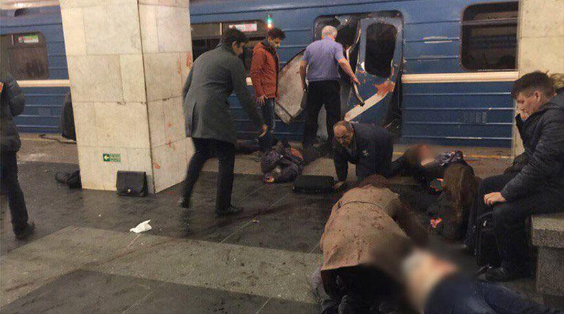 Εκρήξεις στο μετρό της Αγίας Πετρούπολης – Τουλάχιστον 10 νεκροί