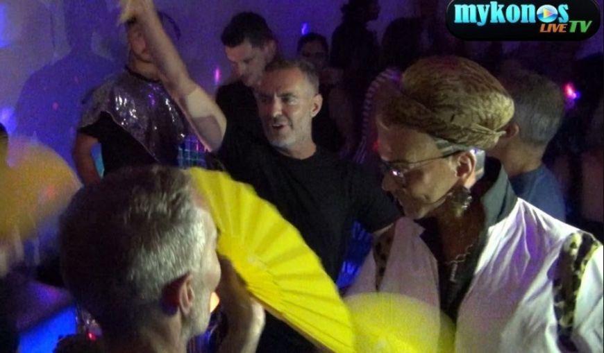 Ο Λάκης Γαβαλάς και οι  Dsquared σε μεγάλα κέφια! (Video)