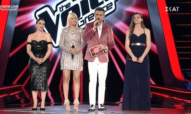 "Aνίκητος ο Κωστής Μαραβέγιας: Νικήτρια του ""The Voice"" η Λεμονιά Μπέζα από την ομάδα του  (Video)"