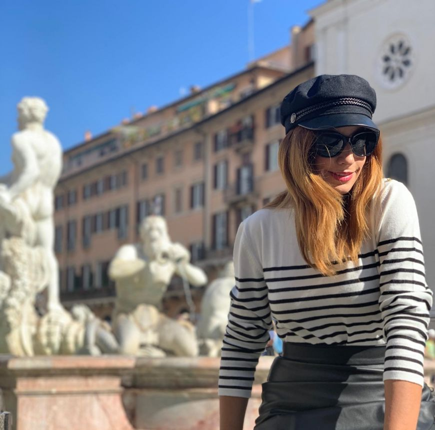 Follow my steps in Rome..