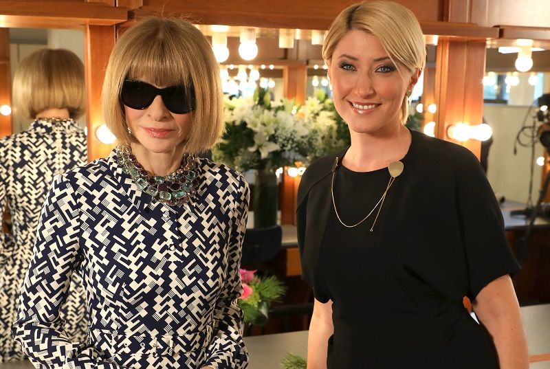 H αποκλειστική συνέντευξη της Anna Wintour στη Σία Κοσιώνη-Όσα λέει η ιέρεια της μόδας