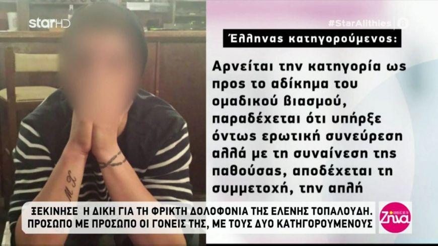 Δίκη Τοπαλούδη: Τι είπαν στις καταθέσεις τους οι δύο κατηγρούμενοι