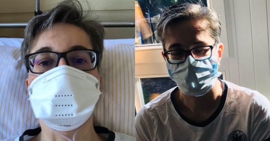 Μητέρα τριών παιδιών που μολύνθηκε από κορονοϊό περιγράφει τα συμπτώματα καθώς δίνει μάχη να κρατηθεί στη ζωή