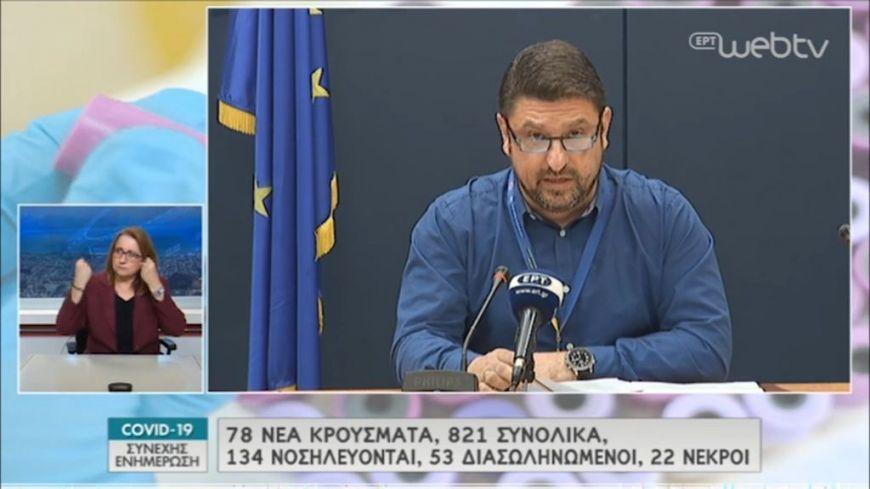 Νίκος  Χαρδαλιάς: Νέες διευκρινήσεις για τα μέτρα περιορισμού-Σε καραντίνα χωριά της Ξάνθης