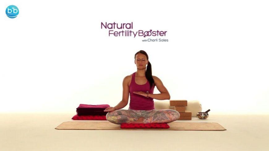 Yoga Rythm για αύξηση γονιμότητας με την Charli Sales
