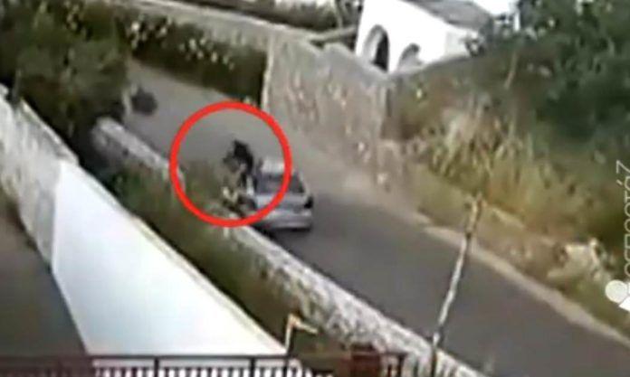 Βίντεο ντοκουμέντο από τροχαίο στην Κρήτη – 24χρονος εκσφενδονίζεται στον αέρα και καταλήγει στην άσφαλτο