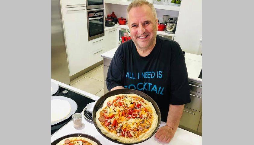 Ο αγαπημένος Chef Βαγγέλης Δρίσκας έφτιαξε πίτσα στον Συνδέσμο Προστασίας Παιδιών και Αμεα