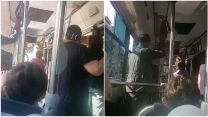 Χυδαία επίθεση οδηγού λεωφορείου σε γυναίκα επιβάτη: «Άντε στο δ@@@@ο χοντρή πατσαβούρα»   Video