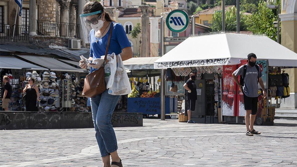 Μέτρα για τον κορωνοϊό, Αττική: Υποχρεωτική χρήση μάσκας σε όλους τους κλειστούς χώρους εργασίας και στις πλατείες