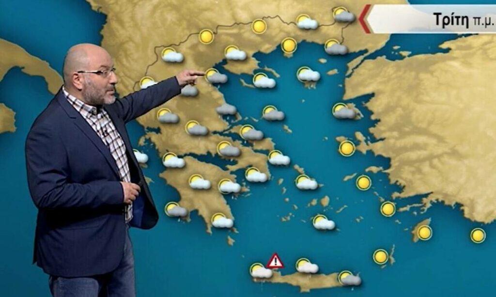 Καιρός: Προειδοποίηση Αρναούτογλου για καταιγίδες με επιλεκτική ραγδαιότητα