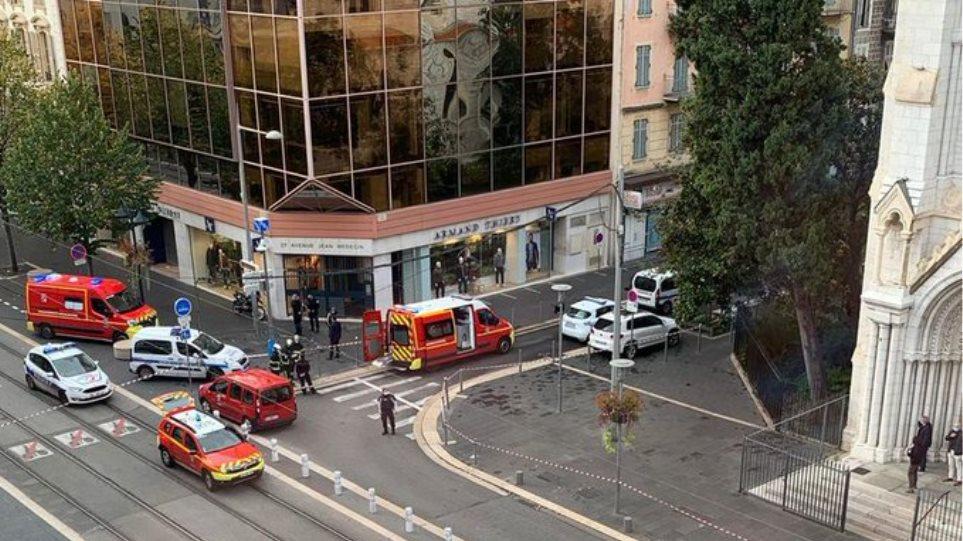 Τρομοκρατική επίθεση με μαχαίρι στη Νίκαια της Γαλλίας – Δύο νεκροί