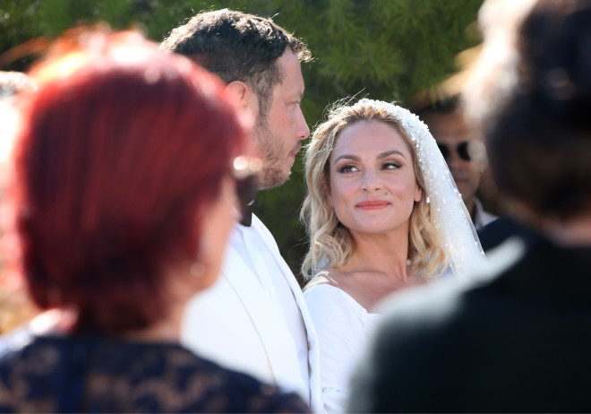 Ελεονώρα Ζουγανέλη-Σπύρος Δημητρίου: Όλες οι νέες φωτογραφίες του γάμου τους