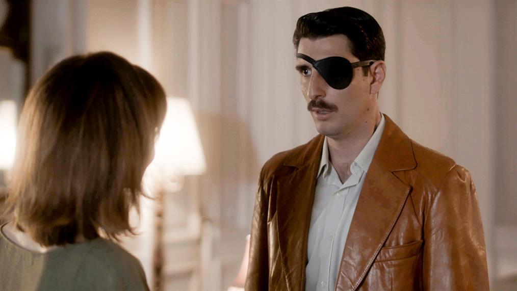 Γιώργος Γεροντιδάκης: Ο λόγος για τον οποίο φοράει το προστατευτικό patch στο μάτι του συνεχώς