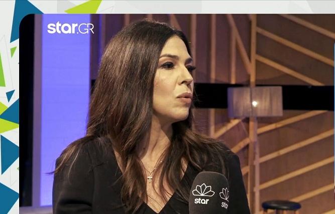 Ναταλία Δραγούμη:  Δεν έχω λόγο να σχολιάσω τη συμφωνία του Ανδρέα Γεωργίου με το Mega, είναι…