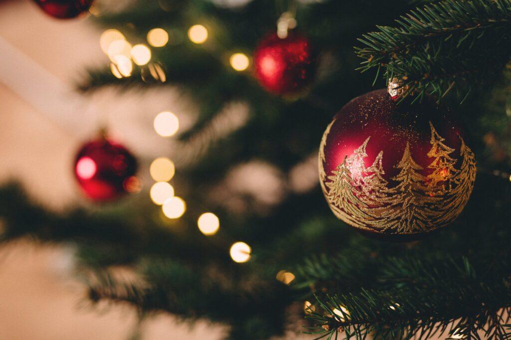 Φέτος στόλισα για πρώτη φορά χριστουγεννιάτικο δέντρο…