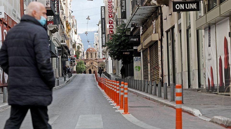 Lockdown – Μοναχικό Σαββατοκύριακο: Κλειστά καταστήματα και απαγόρευση κυκλοφορίας από τις 6μμ