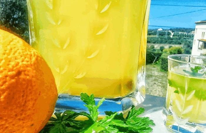 Λικέρ πορτοκάλι από την Εύα Παρακεντάκη