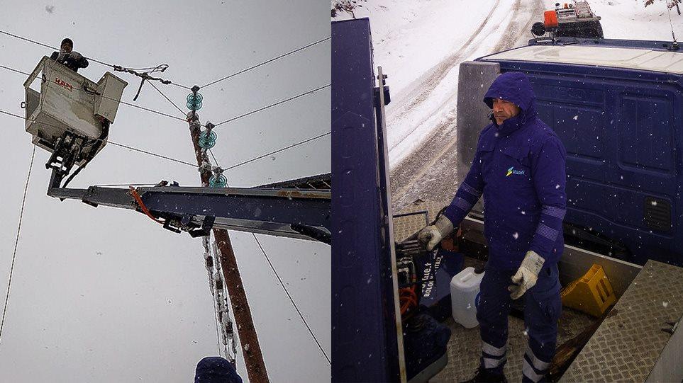 Μάχη για να ηλεκτροδοτηθούν τα τελευταία 10.000 νοικοκυριά σε Αττική