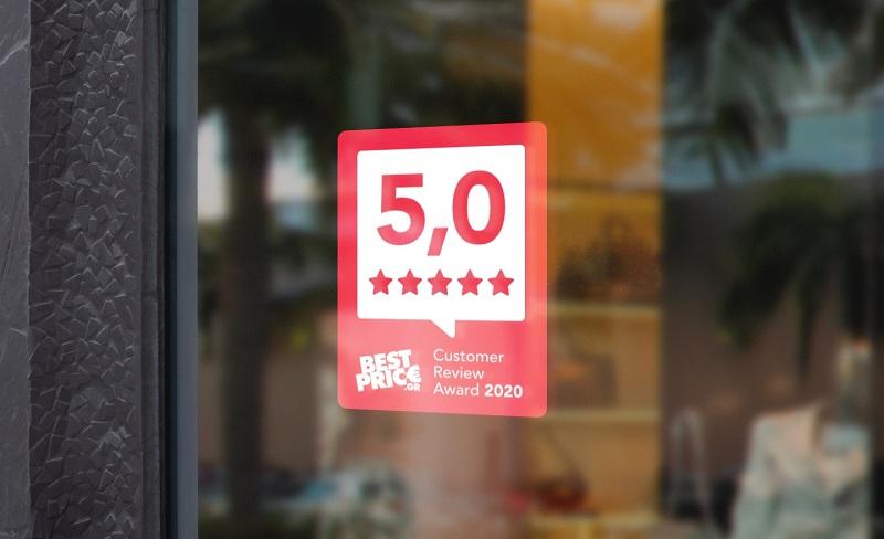 Best Price Customer Review Awards 2020 -Τα καλύτερα e-shops βάσει ικανοποίησης πελατών