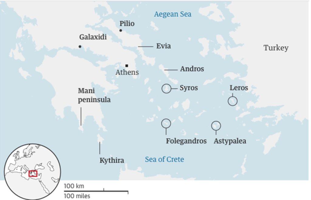 Guardian: Σε αυτές τις περιοχές της Ελλάδας να πάτε διακοπές